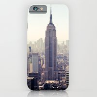 Manhattan - Empire State Building Pano | colored iPhone 6 Slim Case