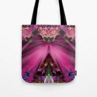 Crystal Blooms Tote Bag