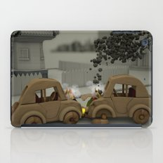 Car Crash iPad Case