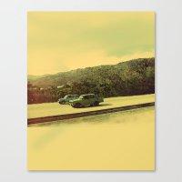 Cuban Cars Canvas Print