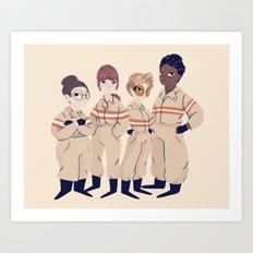 Busters Art Print