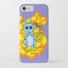 Evil Little Bunny iPhone 7 Slim Case