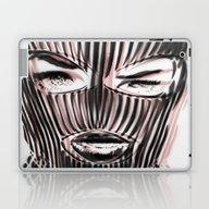 Laptop & iPad Skin featuring Badwood 3D Ski Mask by Badwood