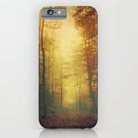iPhone & iPod Case featuring Autumn Morning Mood by Dirk Wuestenhagen Imagery