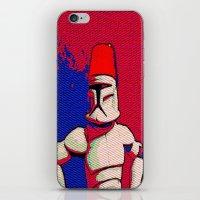 Clone & The Fezz iPhone & iPod Skin