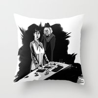 1rst Doctor & Susan... Throw Pillow