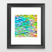 In The Swim Framed Art Print