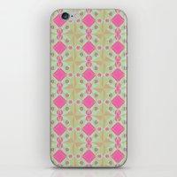 Spring Garden Pattern iPhone & iPod Skin