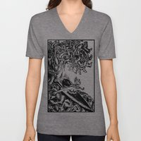 Surfing On Childhood Unisex V-Neck