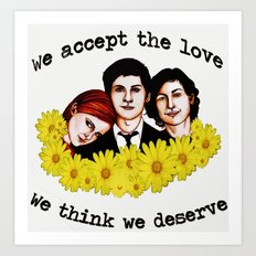 Perks of being a Wallflower Art Print