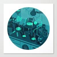The Lab Canvas Print