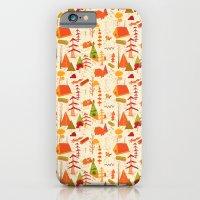 woods pattern iPhone 6 Slim Case