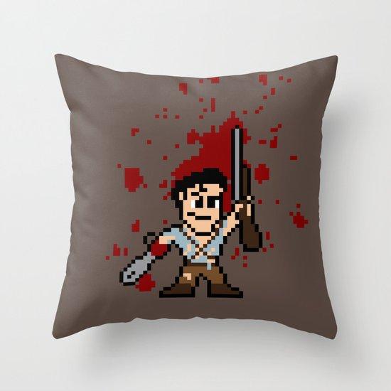 Pixel of Darkness Throw Pillow