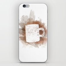 Coffee Stain iPhone & iPod Skin