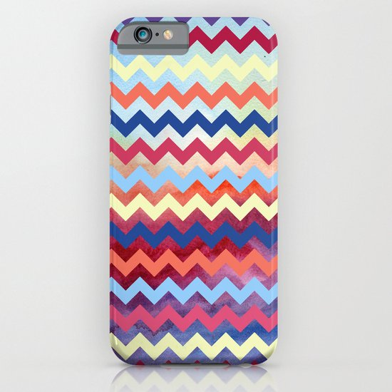 Watercolor Chevron II iPhone & iPod Case