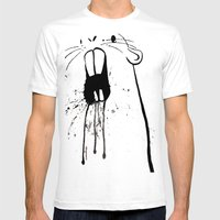 Zombie Gopher Mens Fitted Tee White SMALL