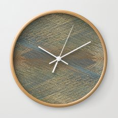 Digital lines pattern Wall Clock