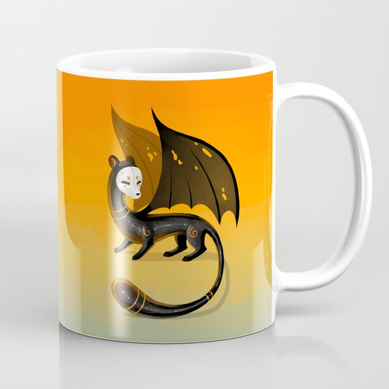 Black Stoat Mug