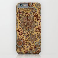 Cosmic Paisley Henna iPhone 6 Slim Case