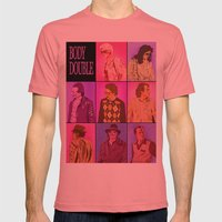 Body Double Mens Fitted Tee Pomegranate SMALL