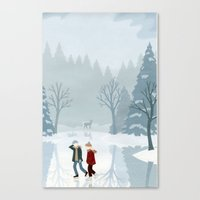 Lost Love Canvas Print