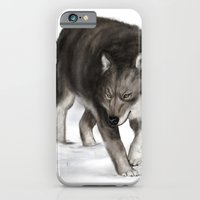 iPhone & iPod Case featuring Arctic wolf by Laura MSS