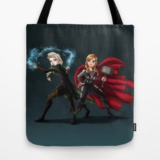 Thunder and Frost Tote Bag