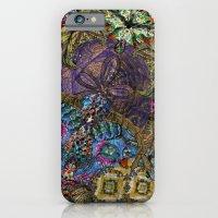 Psychedelic Botanical 8 iPhone 6 Slim Case