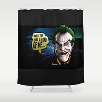 Get A Load Of Me Shower Curtain