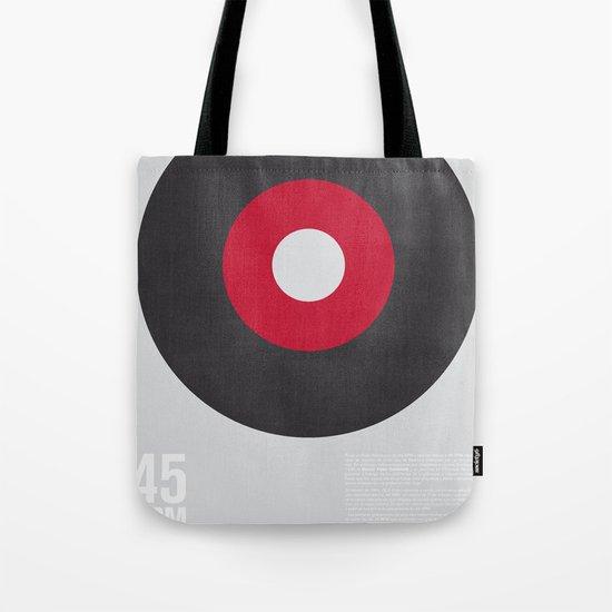 45 RPM Tote Bag