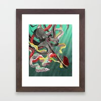 The Underdog Framed Art Print