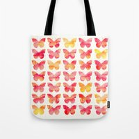 Butterflies Watercolor 1 Tote Bag