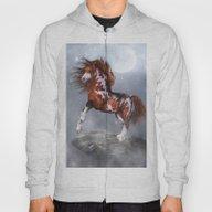 Native Horse Hoody