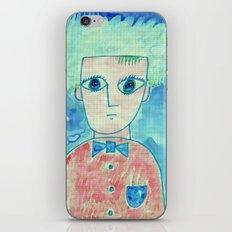 Grid boy iPhone & iPod Skin