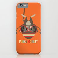 iPhone & iPod Case featuring Funky Monkey by Steph Dillon