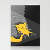 yellow chippy Stationery Cards