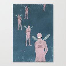 risk man ... Canvas Print