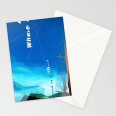 where? Stationery Cards