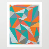 Art Print featuring Summer Deconstructed by INDUR
