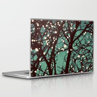 lights Laptop & iPad Skins featuring Night Lights by elle moss