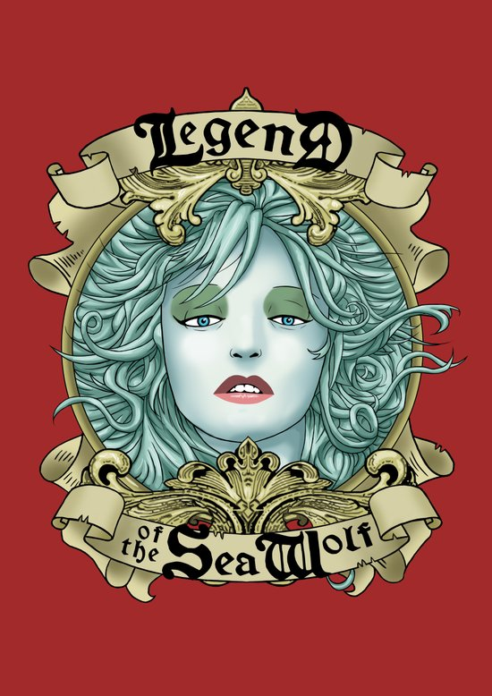 Legend of the Sea Wolf Art Print