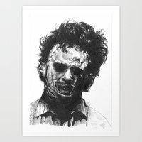 Leatherface Art Print