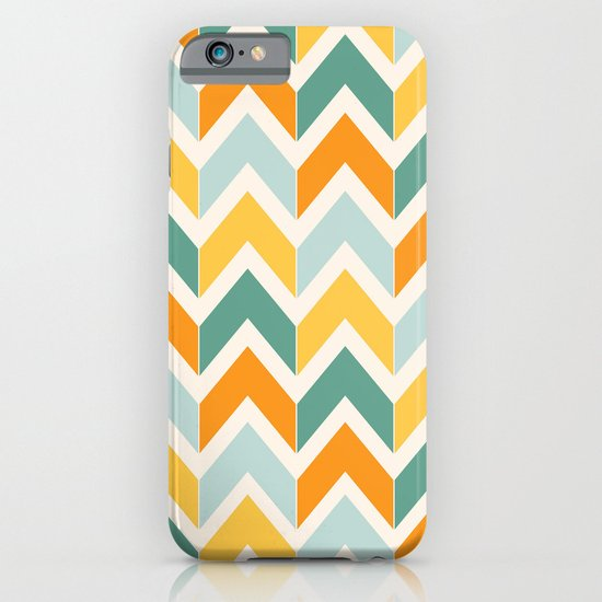 Citrus Chevron iPhone & iPod Case