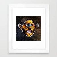 Cycloptic Dog Eagle - Little Wing Framed Art Print