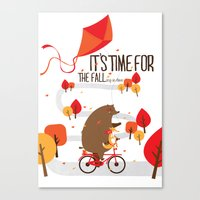The Fall Canvas Print