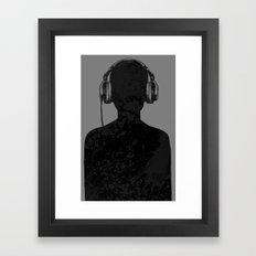 Black music Framed Art Print