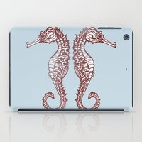 Seahorses iPad Case