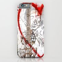 iPhone & iPod Case featuring I love Rock'nRoll by Jo.PinX