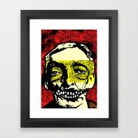 TRUE CRIME: Albert Fish Framed Art Print