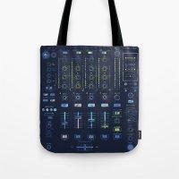 DJ Mixer Tote Bag